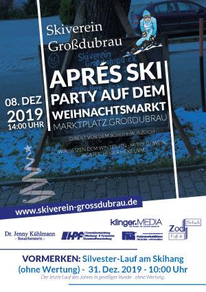 Aprés Ski-Party auf dem Weihnachtsmarkt Großdubrau