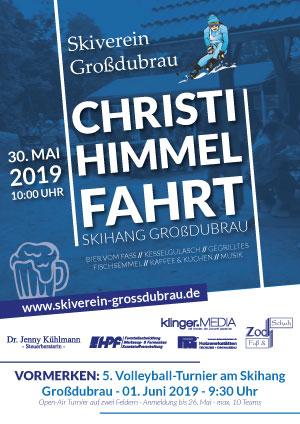 Christi-Himmelfahrt am Skihang Großdubrau